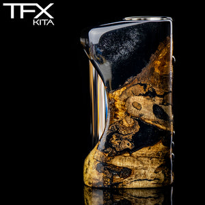 TFX-KITA - 21700 - DNA75C Regulated Mod - Stabilised Ash Burr
