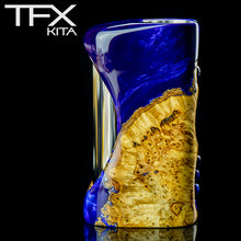 TFX-KITA - 21700 - DNA75C Regulated Mod - Stabilised Poplar Burr