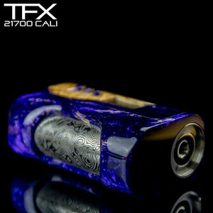TFX-CALI - 21700 - DNA75C Regulated Mod - Stabilised Ash Burr