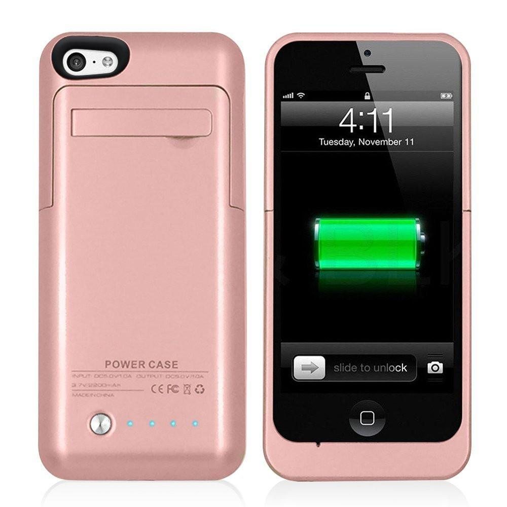 the latest daf48 fb81f Lioeo External Battery Charger Case for iPhone 5s Battery Case for iPhone  SE Backup Battery Charger Case for iPhone 5 Power Bank