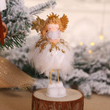 Latest New Year 2020 Christmas Angel Girl Boy Dolls Xmas Tree Ornament Noel Christmas Decoration for Home Navidad 2019 Kids Gift