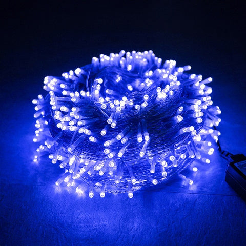 New Year 2020 Christmas Led Garland 10 M 100  Lights Christmas Decorations for Home Natal Decor Kerst Adornos De Navidad 2019.Q
