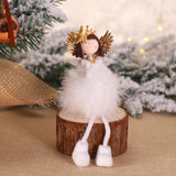 2020 New Year Latest Christmas Angel Dolls Cute Xmas Tree Ornament Noel Deco Christmas Decoration for Home Navidad 2019 Kid Gift