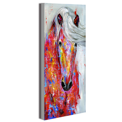 Wall Art Canvas Painting Animal Picture Posters The Horse Portrait Prints Home Decor No Frame