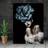 abstract portraits paintings Wall Pictures modern Wall art abstract print figure on canvas painting art print canvas poster