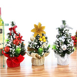 Merry Christmas Flower basket Design Bedroom Desk Toy Doll Children Home Decoration Gift Christmas Tree Pendant Ornaments