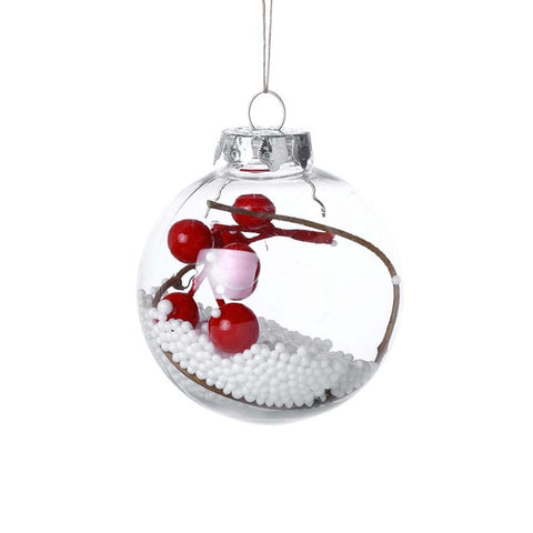 Multicolor Christmas Ball Christmas Tree Ornaments Hanging Pendants Craft New Year Xmas Decor Home Party Decoration 923