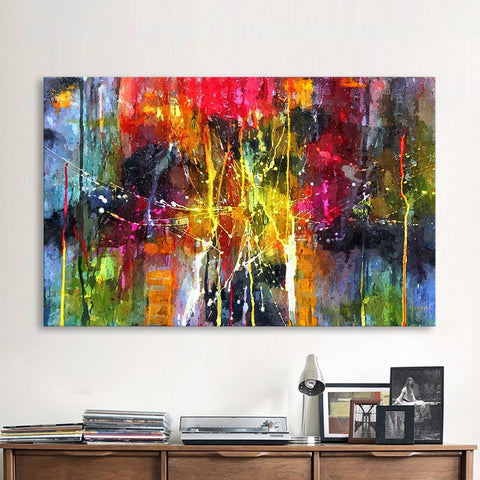 Abstract Painting Colorful Canvas Wall Pictures for Living Room Office Bedroom  Modern Canvas Oil Painting