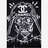 Handmade Graffiti Canvas Painting BANKSY Star Wars Poster For Graffiti  On Canvas Street Art Home Decor Decorativer