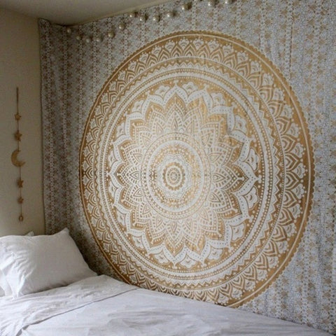 Wall Hanging Tapestries Indian Mandala Tapestry Tai Chi  Hippie Bohemian Decorative Wall Carpet Yoga Mats