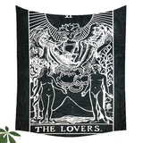 Tarot Hanging Tapestries Sun Star Moon Tapestry Hippie Wall Hanging Blanket Wall Carpet Yoga Mat Home Decor