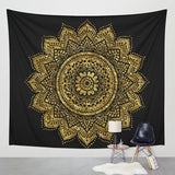 Mandala Tapestry Wall Hanging Hippie Beach Throw Rug Moon Travel Bohemian Home Art Tapestries Decor
