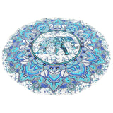 Tapestry Mandala Wall Hanging Blanket Indian Summer Beach Throw Rug Blanket Tablecloths Beach Throw Rug Blanket Muslim Tapestry