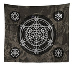 India Mandala Tapestry Wall Hanging Sun Moon Tarot Wall Tapestry Wall Carpet Psychedelic Wall Cloth Tapestries