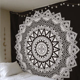 Indian Bohemia Mandala Tapestries Wall Hanging Home Floral Carpet Tapestry For Wall Decoration Fashion Tribe