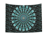 Mandala Indian Tapestry Twin Hippie Wall Hanging Bedspread Throw Cover Bohemian Beach Mat Table Cloths Home Art Decor Blanket