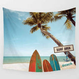 large tapestry beauty sea beach landscapes wall hanging tapestries home decor rectangle bedroom wall art tapestry