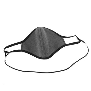 HEATHER GREY/ Non-Medical Face Mask With Elastic Cord Extension