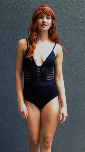 RIO Low-cut one-piece swimsuit-Chika Boom Boom