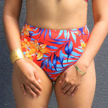 SOFIA Floral Tropical High Waist Bikini Bottom