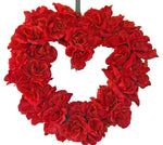 Valentines Day wreath, valentines day, roses, red rose,  Valentines day gift