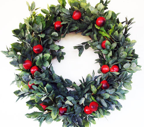 Mint & Apple Wreath
