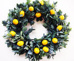 Lemon Mint Wreath