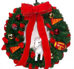 USC Traditional Bow Wreath