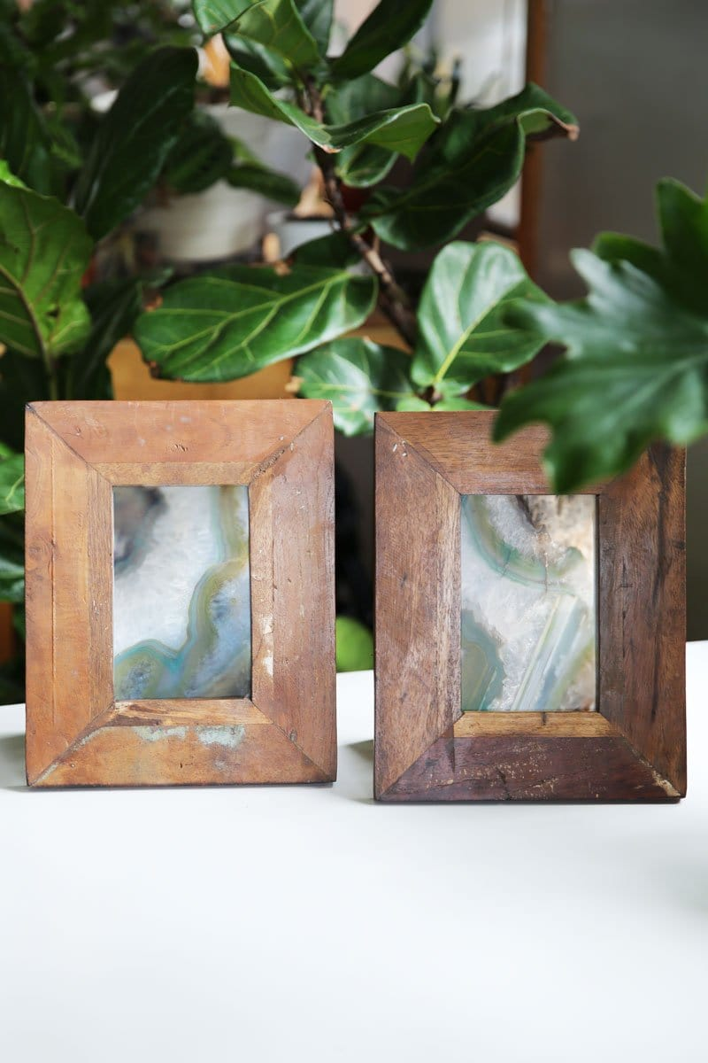 Reclaimed Mango Wood Frame