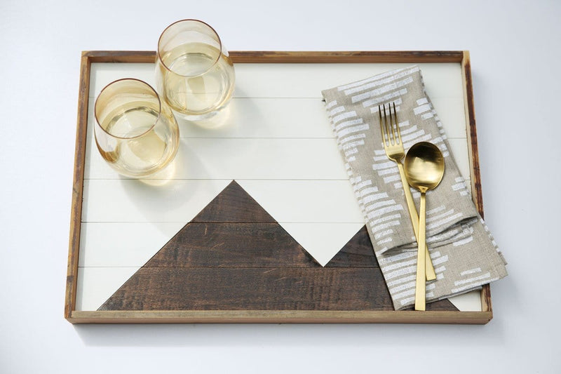 Mountain Reclaimed Wood Tray