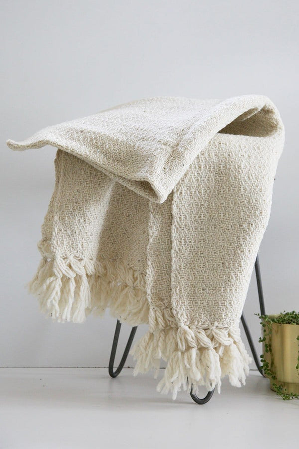 Chiapas Wool Throw