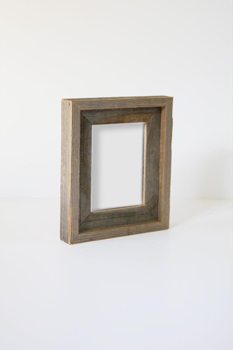 "5"" x 7"" Reclaimed Double Wood Frame"