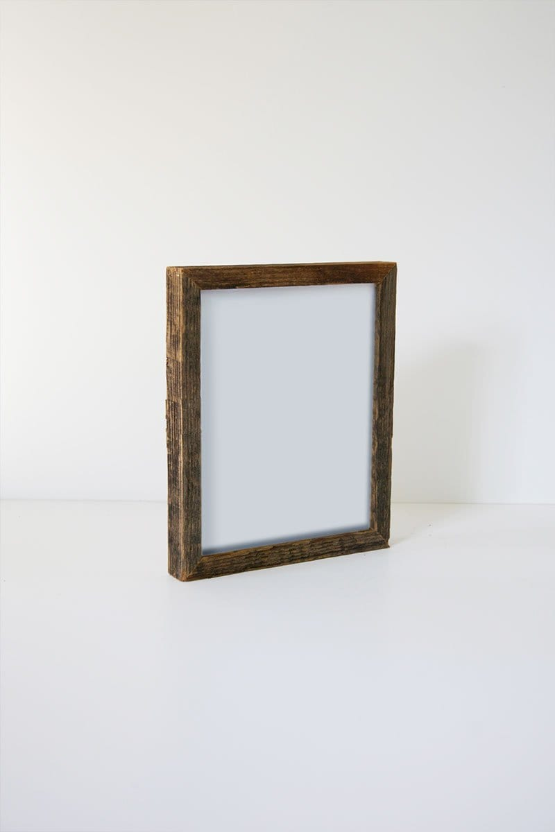 "8"" x 10"" Reclaimed Gallery Wood Frame"