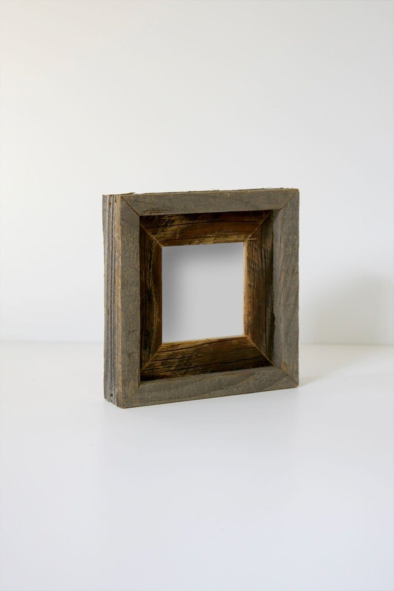 "4"" x 4"" Reclaimed Double Wood Frame"