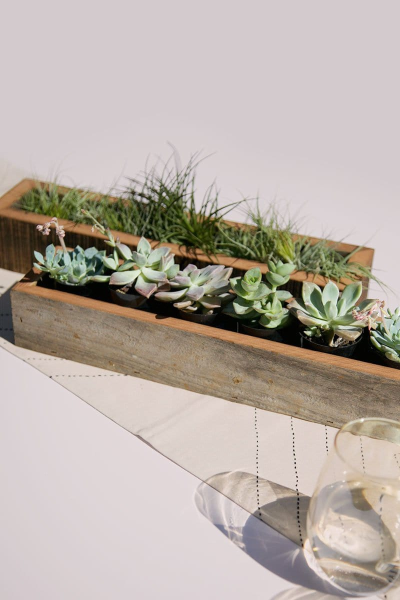 "2"" x 14"" Reclaimed Sevensie Wood Planter Box"