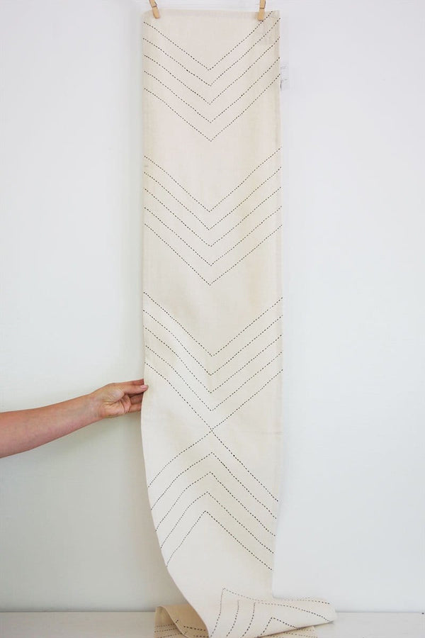 Organic Arrow Table Runner
