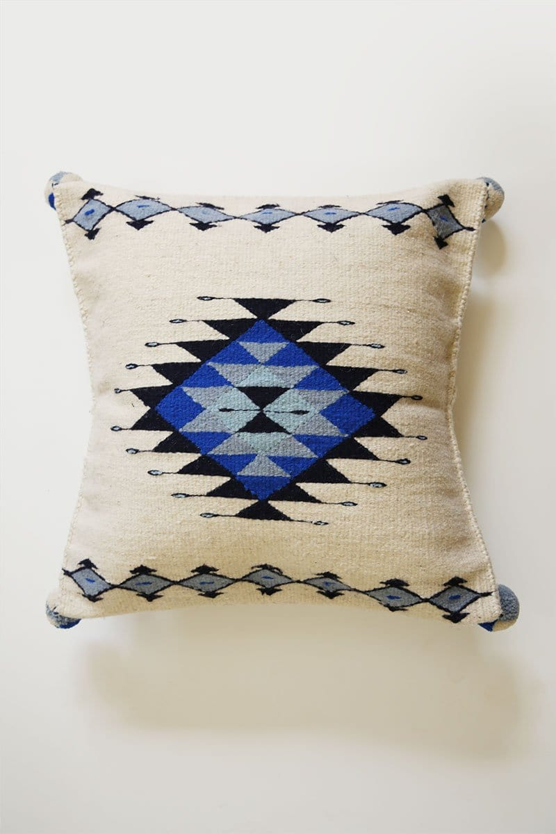 Farmed Diamond Wool Pillow Cover