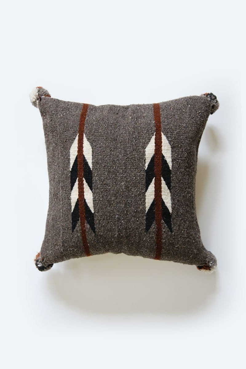 Two Arrows Wool Pillow Cover