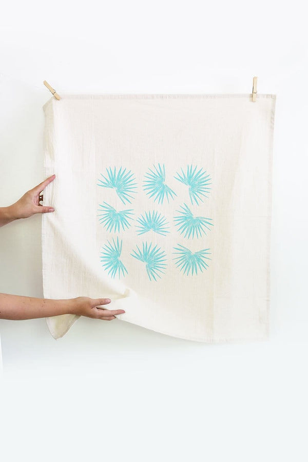 Fan Palm Tea Towel