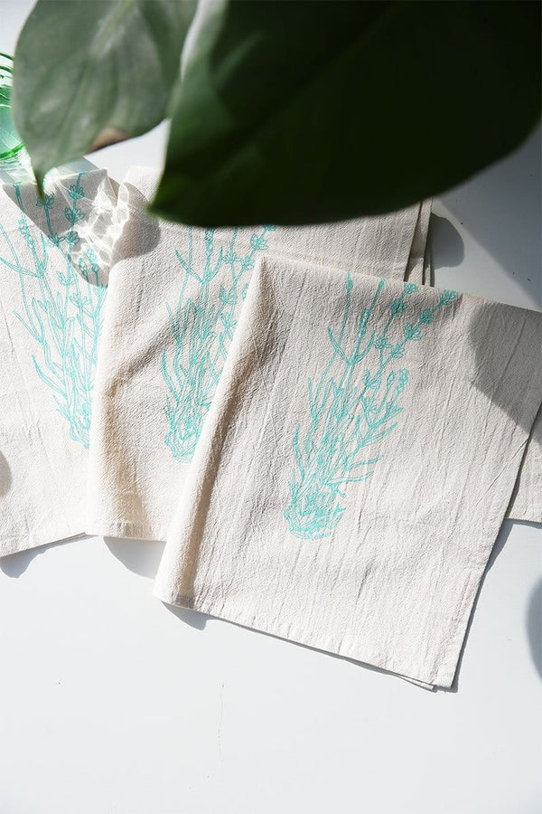 Organic Lavender Cloth Napkins - Set of 4