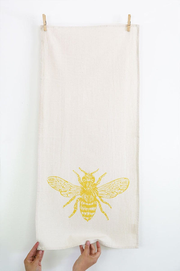 Honeybee Tea Towel