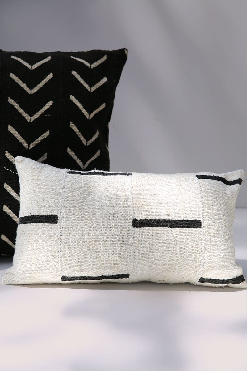Davu African Mud Cloth Pillow Cover