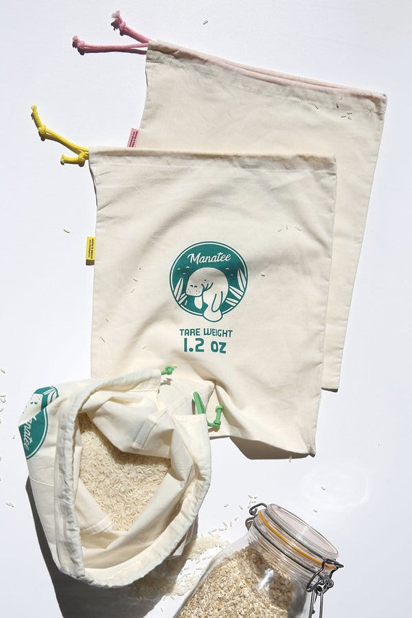 Organic Produce Bags, Pack of 3