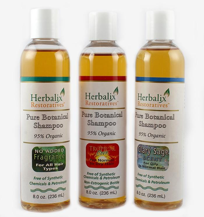 Natural Organic Cleansing Shampoo