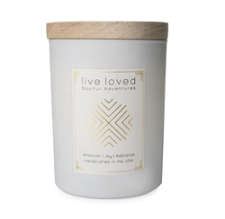 Live Loved Candle