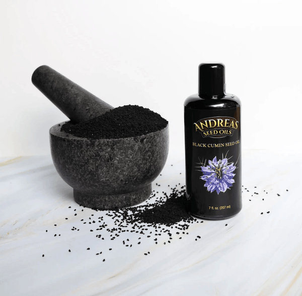 Black Cumin (Nigella sativa) Seed Oil