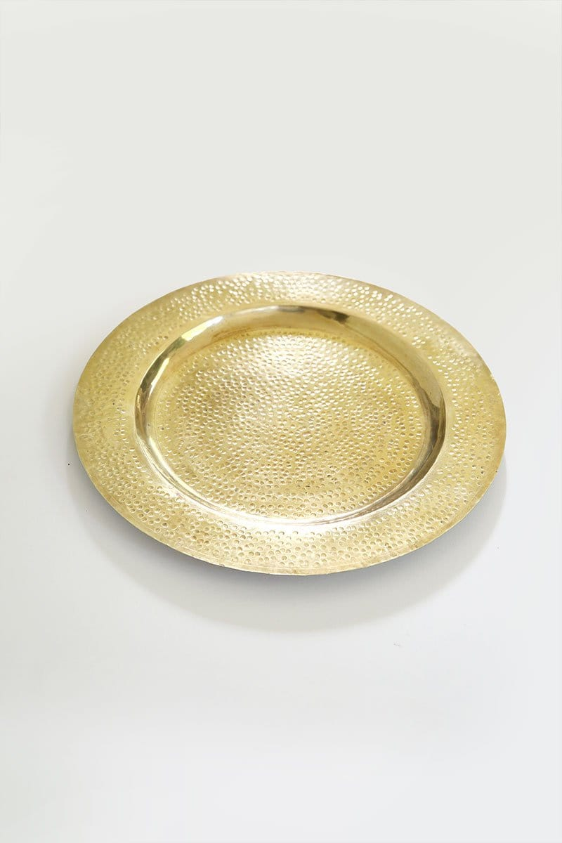 Charly Brass Charger/Tray