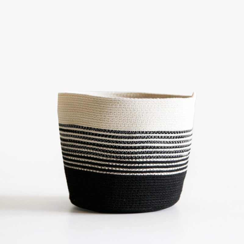Black and White Baskets