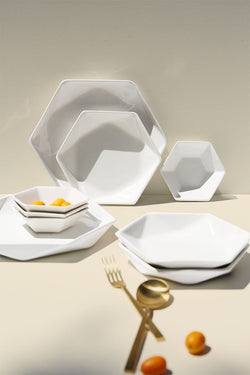Hexagon Dinnerware