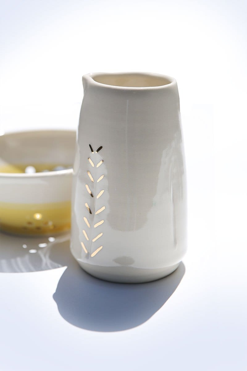 Gold Accent Pitcher